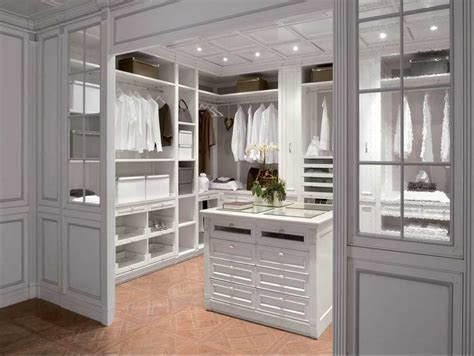 closet island pictures of walk in closets with island in white finish
