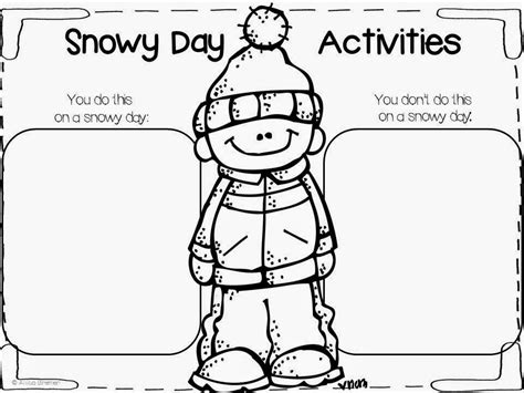 kindergarten activities book snowy day mrs bremer s class snowy books the snowy day free pack