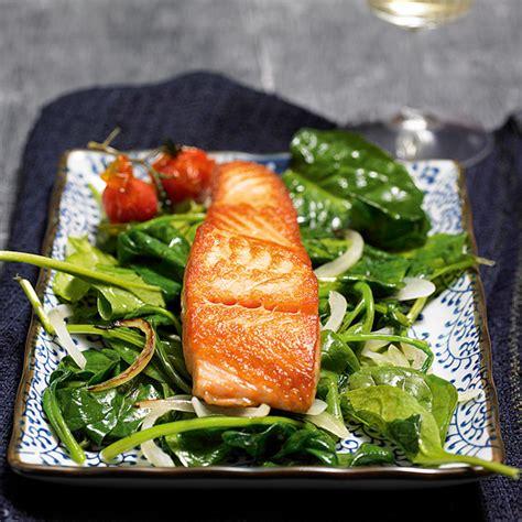 Rezepte Mit Tk Lachs 3902 by Lachs Auf Blattspinat Rezept K 252 Cheng 246 Tter