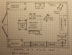 workshop layout images garage workshop plans