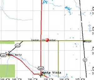 center colorado map center colorado co 81125 profile population maps