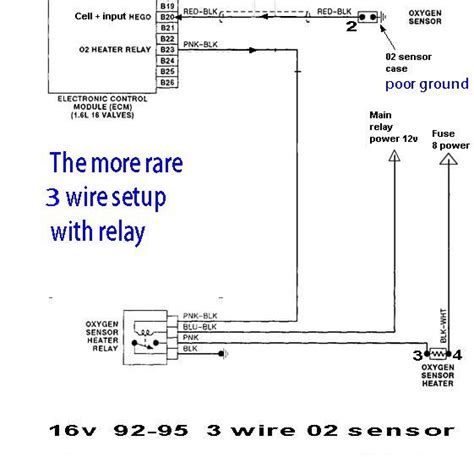 denso o2 sensor wiring diagram 30 wiring diagram images