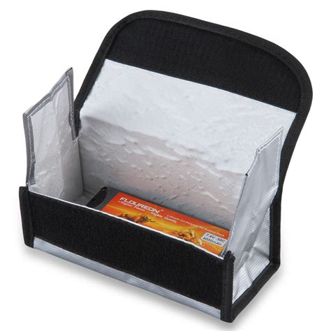 Fireproof Letterbox Bag 195 80 70 Fireproof Lipo Safe Battery Charging Box Bag Sack Pouch Resistant