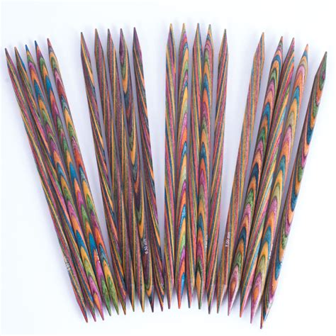 what are pointed knitting needles knitpro symfonie point needles 20cm set of 5