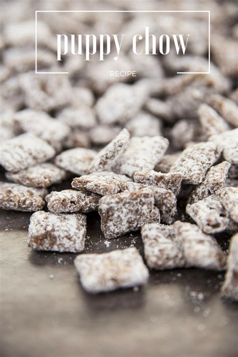 chex puppy chow peanut butter chocolate chex puppy chow recipe spark