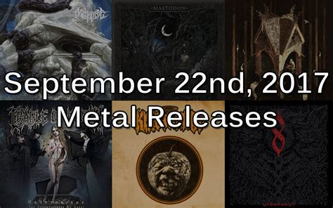 Feast Release September 22 by September 22nd 2017 Metal Releases Ghost Cult Magazine