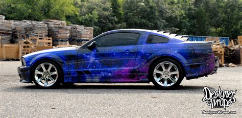 galaxy mustang designer wraps custom vehicle wraps fleet wraps color