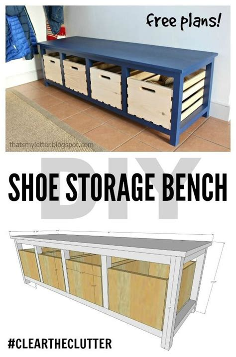 Front Door Storage Bench Diy Shoe Storage Bench Free Plans Scrapworklove Getbuilding2015 Front Doors