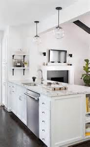 kitchen island peninsula with spice shelves transitional a kitchen peninsula better than an island