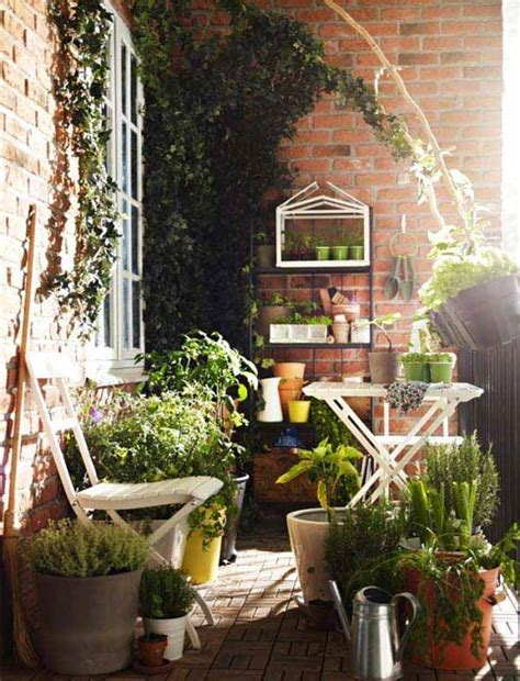Small Garden Balcony Ideas 30 Inspiring Small Balcony Garden Ideas Amazing Diy Interior Home Design