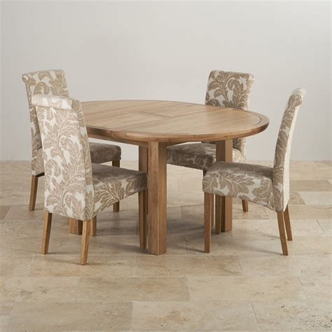 Circular Dining Table For 4 Knightsbridge Oak Dining Set Extending Table 4 Chairs