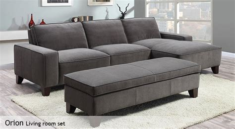 costco chaise sofa with ottoman sofa with ottoman chaise costco chaise sofa with storage