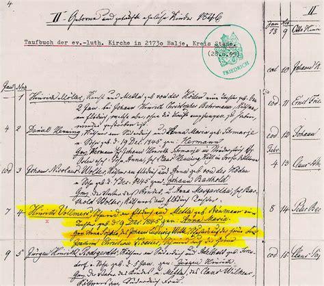 Recorded Birth Records