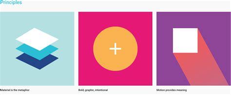 google design principles material design google grafigata