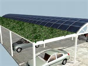 Solar Parking Canopy by Eco Friendly Parking Lots For Gray Pastures And Green