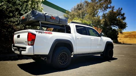 tacoma bed rack low profile rtt bed rack 2016 plus tacoma