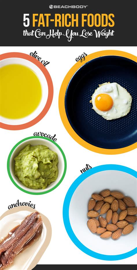 healthy fats beachbody 5 rich foods that can help you lose weight the