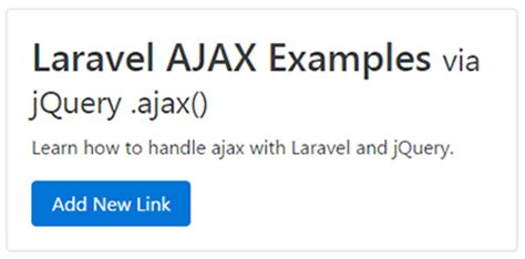 laravel jobs tutorial laravel ajax crud tutorial