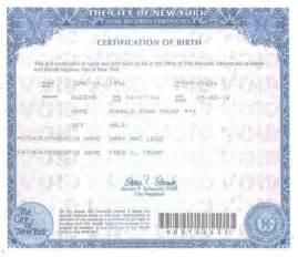 donald trump releases birth certificate demands bill