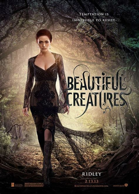 beautiful movie beautiful creatures trailer movie poster character