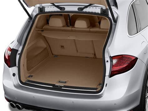 porsche trunk image 2011 porsche cayenne awd 4 door turbo trunk size