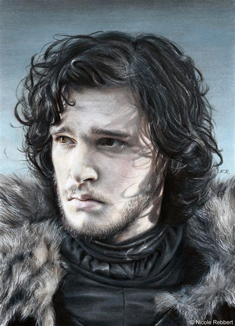 jon snow drawing by quelchii on deviantart