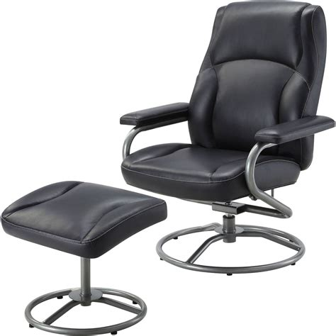 recliner and ottoman set black recliner and ottoman set black living room furniture 360