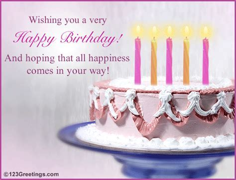 A Birthday Wish! Free Happy Birthday eCards, Greeting