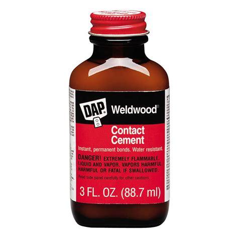 dap weldwood 3 fl oz original contact cement 00107 the