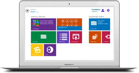 free bootstrap themes windows 8 free wordpress theme which looks like windows 8 8press