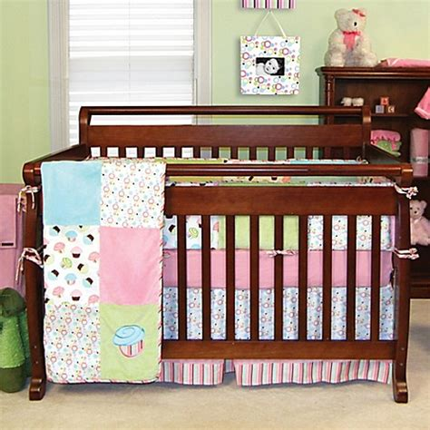 Cupcake Crib Bedding Trend Lab 174 Cupcake Crib Bedding Collection Buybuy Baby