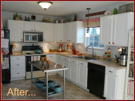 10 creative ways to update kitchen cabinets my colortopia inexpensive diy kitchen cabinet update