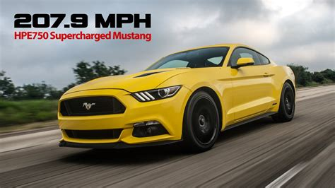 mph hennessey mustang youtube