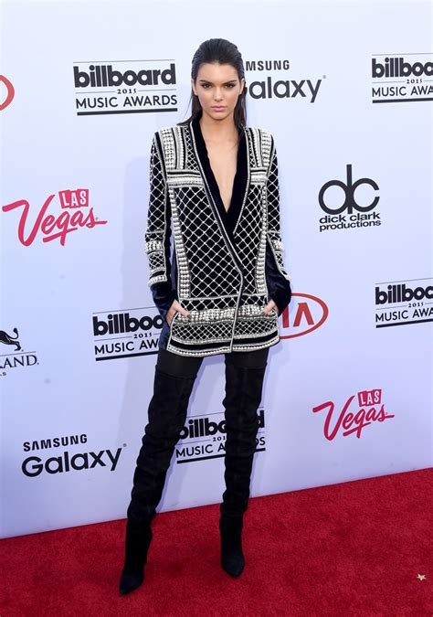 kendall jenner in balmain the best and worst dressed at