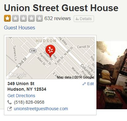 union street guest house should yelp flag or remove listings where owners fine for bad reviews