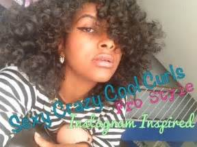 how to bring out curls in black hair natural hair perfect curly afro tutorial youtube
