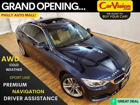 pre owned  bmw  series  xdrive gran coupe