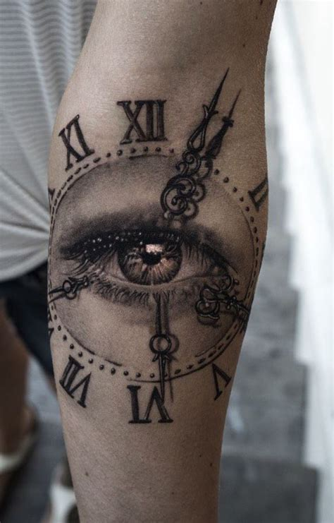eye on time tattoo inkstylemag