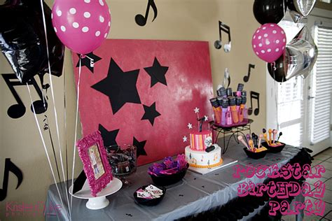 imagenes fiesta rockera decoraci 243 n de fiestas infantiles de rock star fiestas