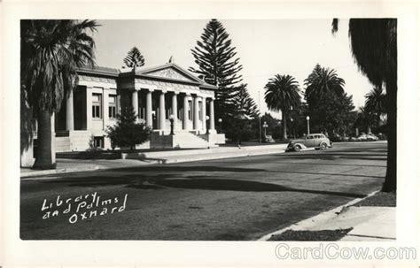 library and palms oxnard ca postcard
