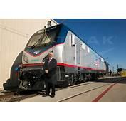 Joseph Boardman With A New ACS 64 Locomotive 2013