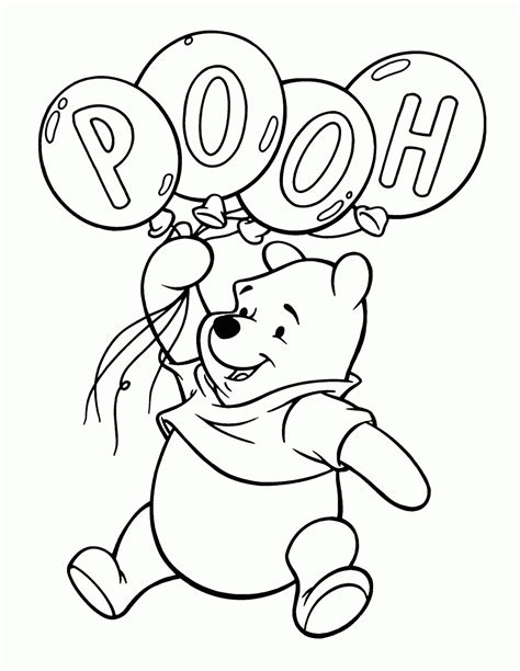 coloring page of winnie the pooh coloring pages winnie the pooh kids online world blog