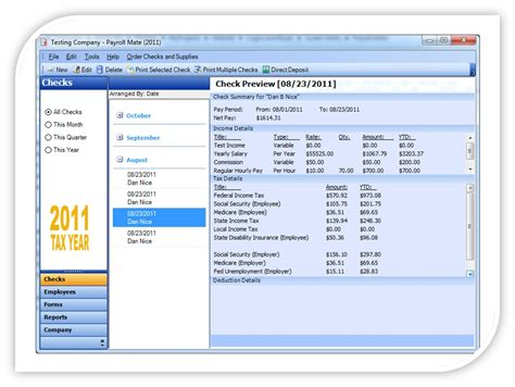 payroll accounting software payroll mate pricing features reviews comparison of