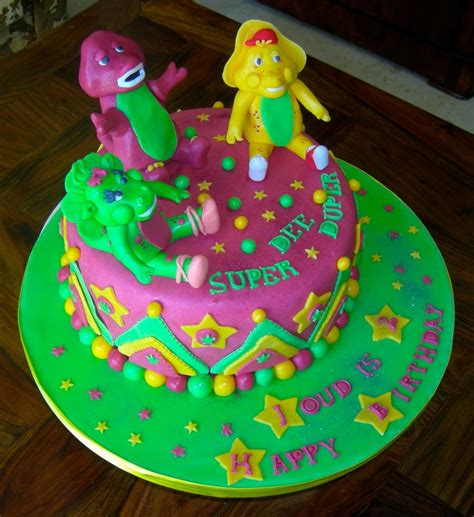 barney cakes decoration ideas  birthday cakes