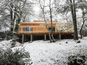 chalet ossature bois en kit cabane en bois en kit mzaol