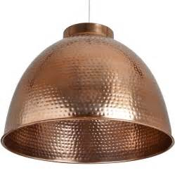 Hammered Copper Pendant Lights Large Hammered Copper Pendant Light Happy Home Interiors