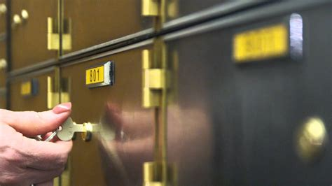 Safe Deposit Box Danamon Up Of And Key Opening A Safety Deposit Box
