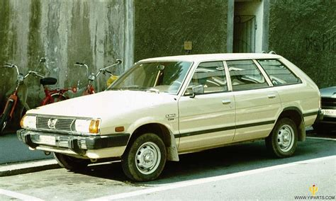 subaru leone wagon subaru leone i station wagon 1800 super 4wd am aj 82 hp