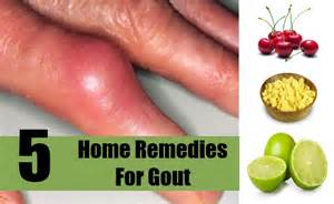 home remedy for gout 5 home remedies for gout treatments cure for