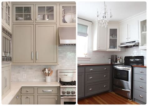 Taupe Kitchen Cabinets Taupe Kitchen Cabinets